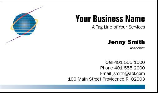 Business cards for it business card design 15 for the it industry reheart Images