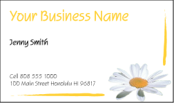 Business Card Design 465 for the Students Industry.