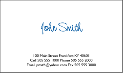 Business Card Design 332 for the  Industry.