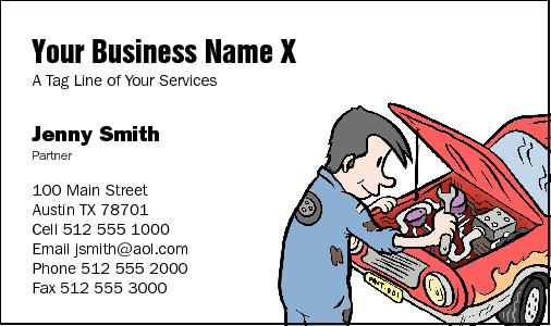 Business cards for mechanics mechanic business cards colourmoves