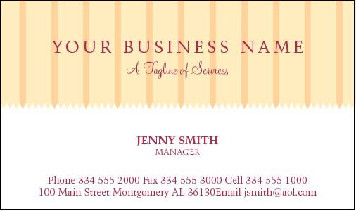 Business cards for cake decorating business card design 799 for the academic industry reheart Images