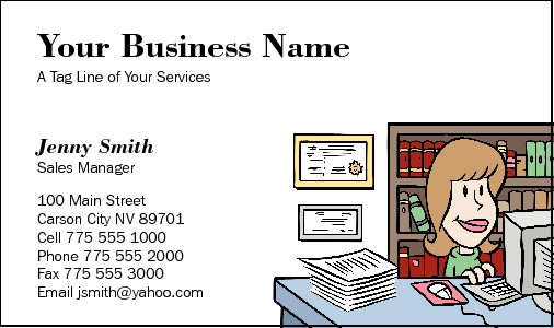 Business Card Design 206 for the Law Industry.