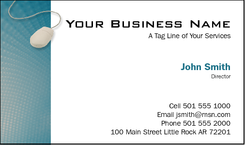 Business Card Design 767 For The Computer Repair Industry