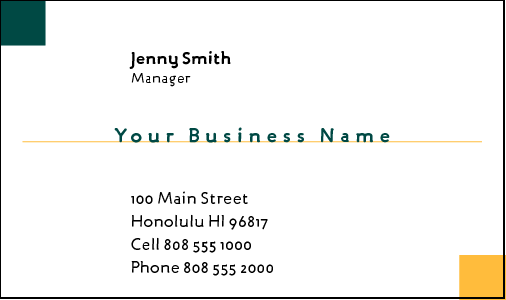 Business Card Design 340 for the Bookkeeping Industry.