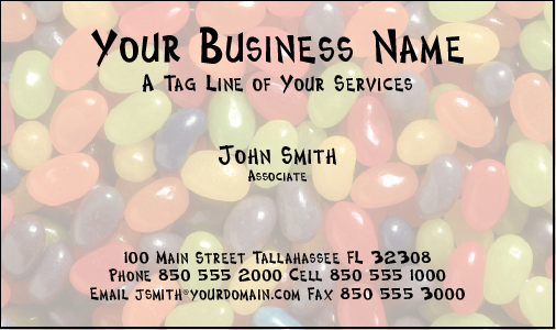 Business Card Design 301 for the Party Industry.