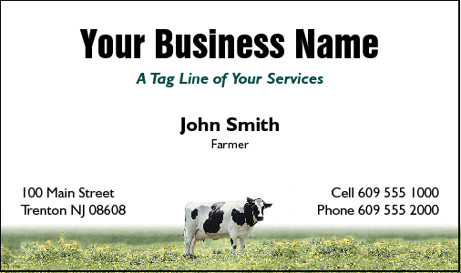 Business cards for farming business card design 451 for the farming industry colourmoves