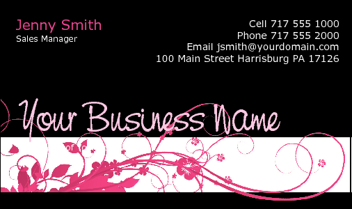 Business Card Design 2704