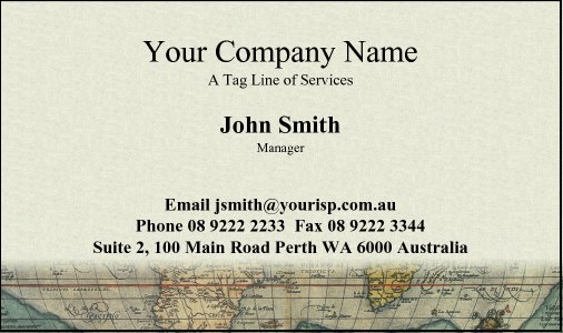 Business Card Design 4 for the Upholstery Industry.